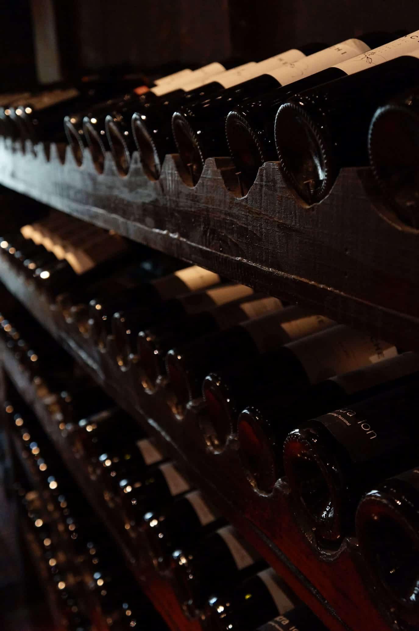 Series of bottle wines